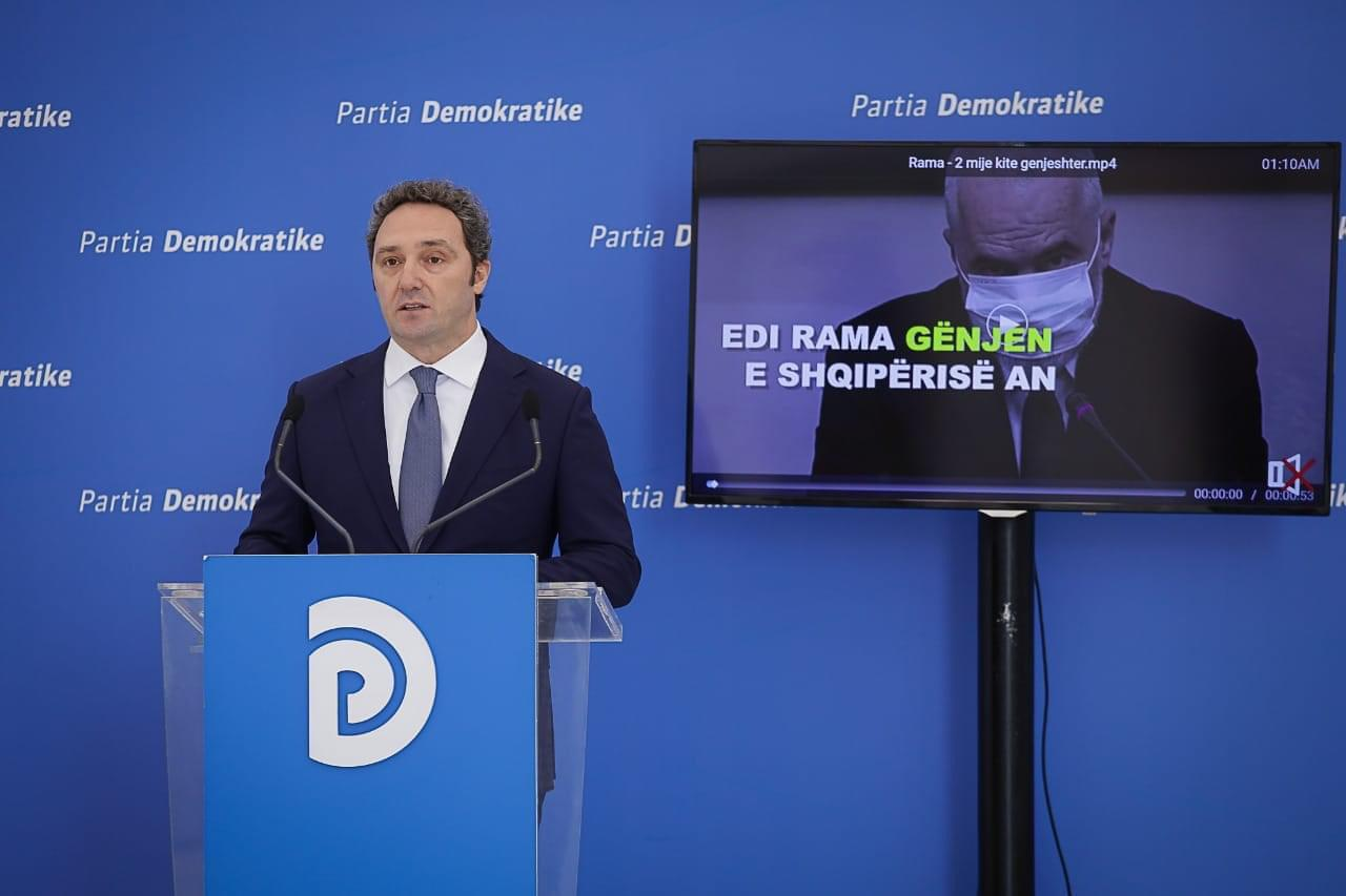 Spahia: Covid ka dalë jashtë kontrollit, Rama të mbajë përgjegjësi