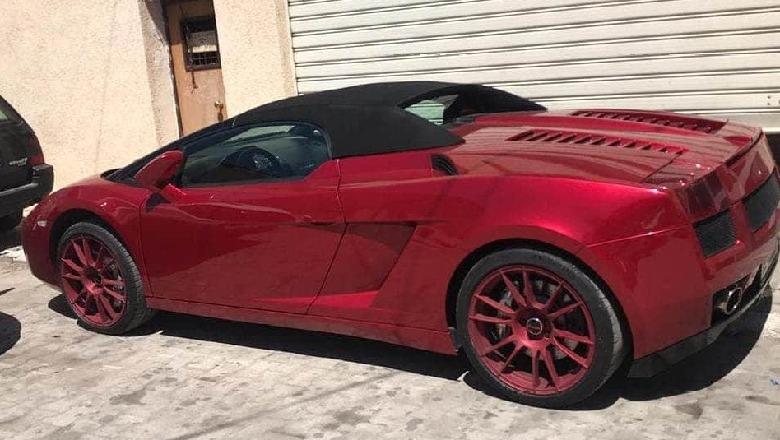 Kosovari u arrestua për Lamborghini-n, Interpoli: Ai është pronari