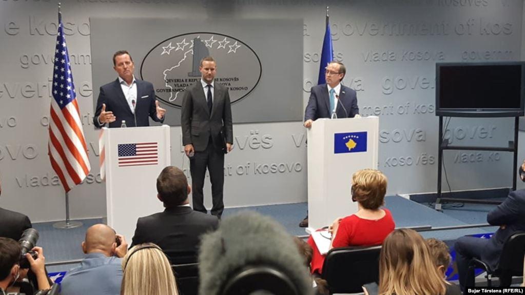 Kosovë/ Grenell: Jam me njeriun që ka një çek të madh për ju