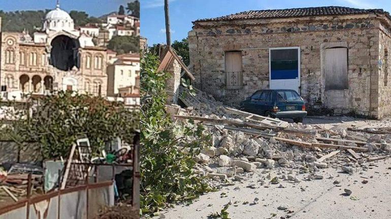 Tërmeti i fuqishëm shemb kishën në ishullin Samos - Liberale