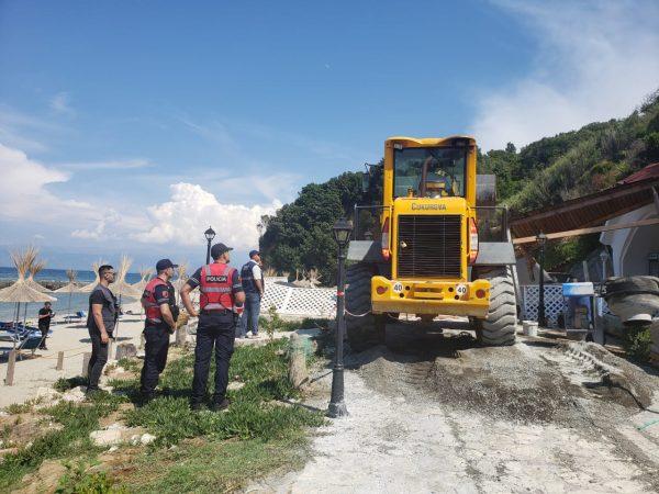 Ndërtimet pa leje në Kep të Rodonit, arrestohet 1 person