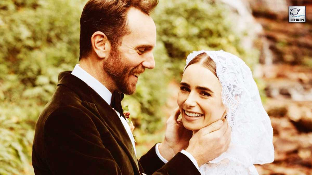 Lily-Collins-Marries-Director-Charlie-McDowell
