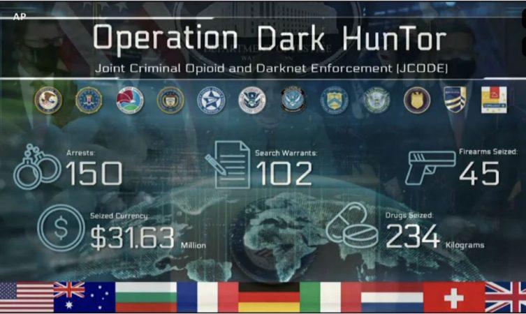 DASH zbulon informacione mbi mega-operacionin me 150 të arrestuar
